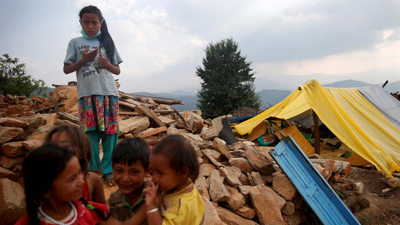 Child survivors of Nepal earthquake sold to rich British families