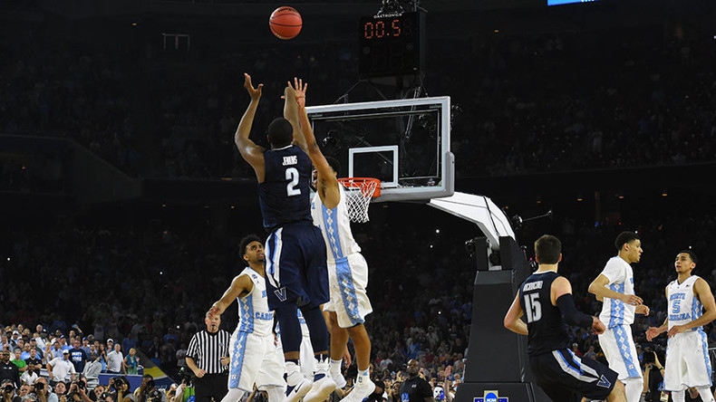 NCAA Championship game: Villanova defeats North Carolina with amazing buzzer beater (VIDEO)