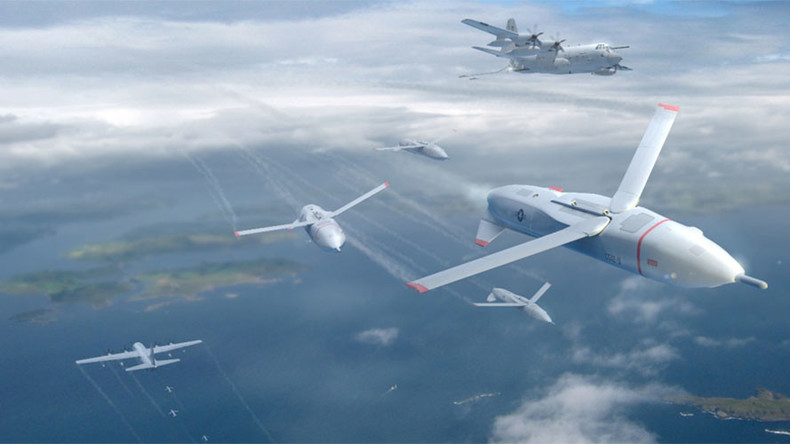 US 'Gremlin' drones designed to cause missile defense mayhem (VIDEO)