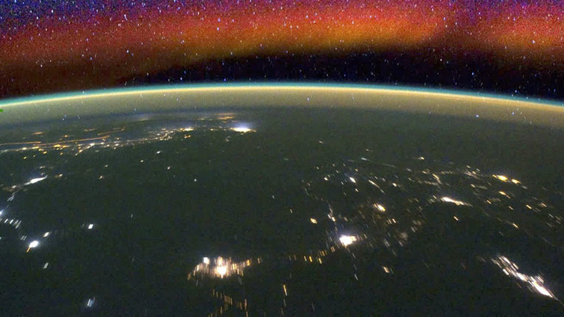Spectacular 'airglow' timelapse as NASA prepares for weather mission to 'no man's land' (VIDEO)