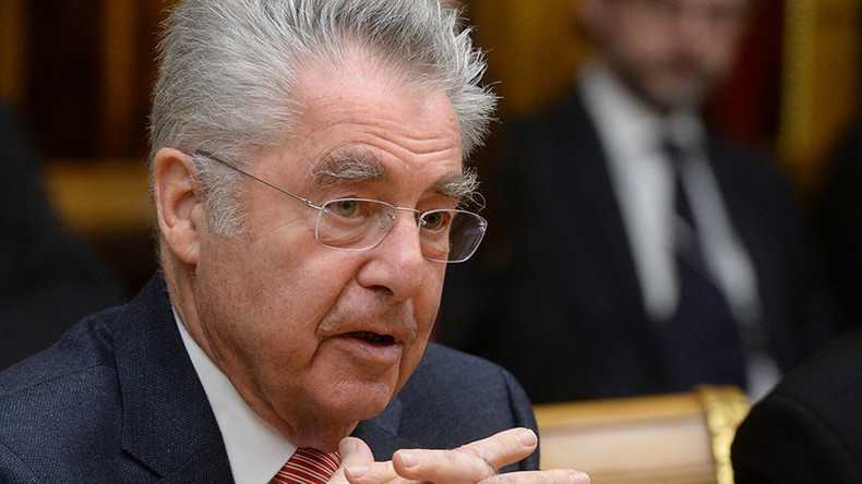 Austrian President wants EU to examine ending anti-Russia sanctions