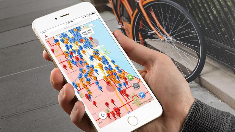 Crime-mapping app steers users clear of dangerous London neighborhoods