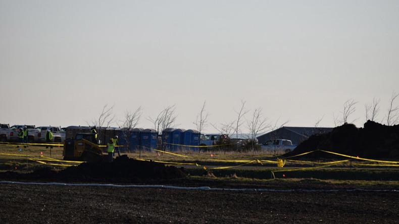 Keystone pipeline leaked 16,000 gallons of oil in South Dakota field