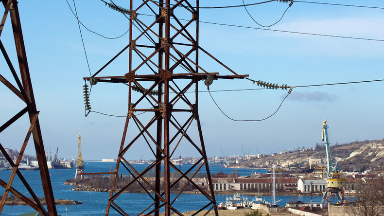Energy bridge to Crimea to be finished ahead of time