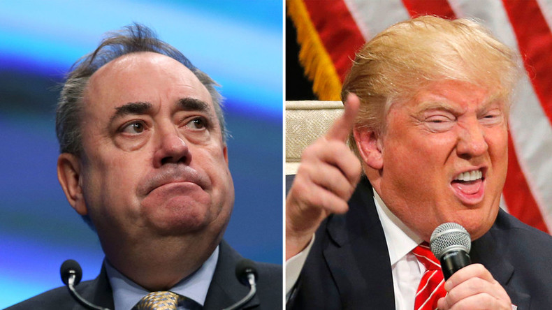Trump is 'offensive, absurd & dangerous' – Alex Salmond