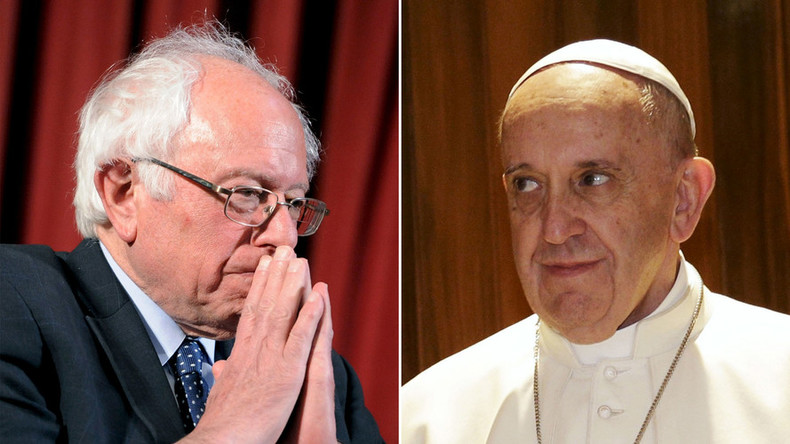 B-B-B-Bernie and the Pope: Sanders to speak at the Vatican