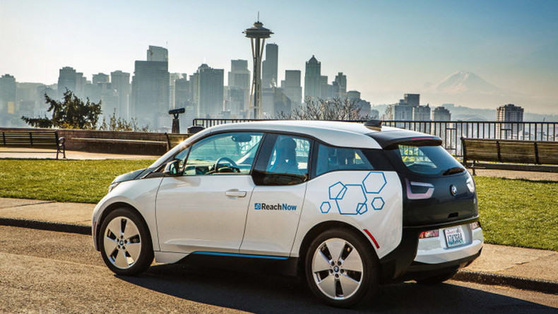 ReachNow: BMW rolls out its new car-sharing venture in Seattle