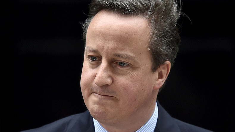 #ResignCameron protest: 'Main charge against PM is hypocrisy'