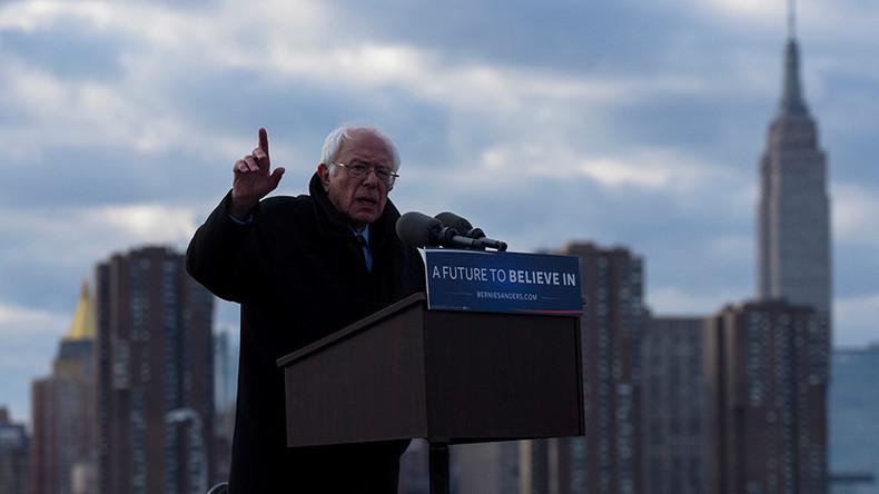 Sanders homecoming: New York native returns to old neighborhood days before primary (VIDEO)