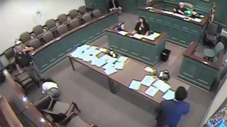 Judge sentenced for ordering electric shock on defendant in court (VIDEO)