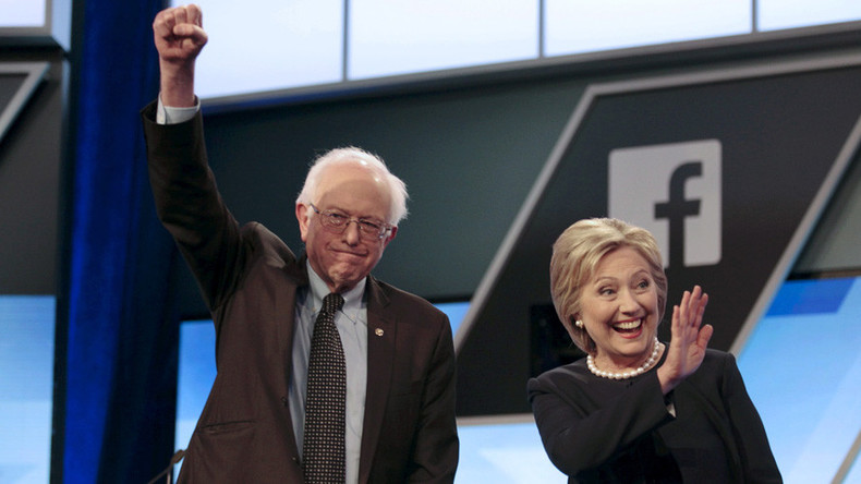 Clinton leads Sanders with double digits among New York Democrats – poll