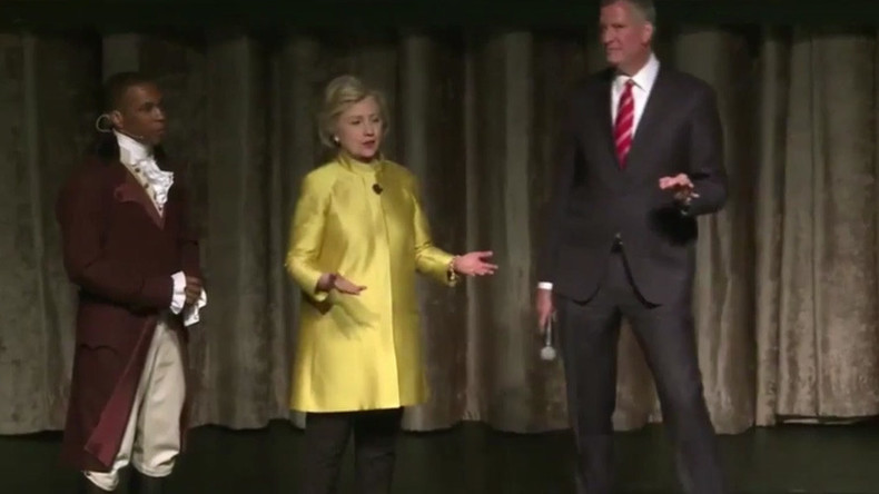 Off-color: Hillary Clinton and NYC mayor spoof 'Colored People Time' joke, backlash ensues