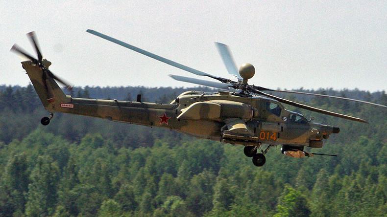 Mi-28N gunship crashes near Homs, both pilots dead – Russian Defense Ministry