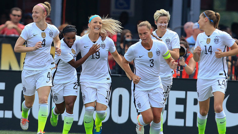 US women's soccer team threatens Olympic boycott over equal-pay issues