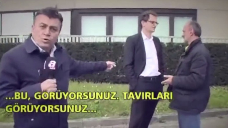 'Rudest manner of press abuse – holding hands in pockets': Turkish reporter slams Germany's ZDF