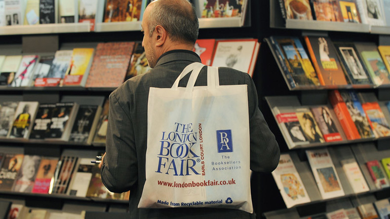 'Politics shouldn't affect culture exchange': Russian culture minister visits London book fair