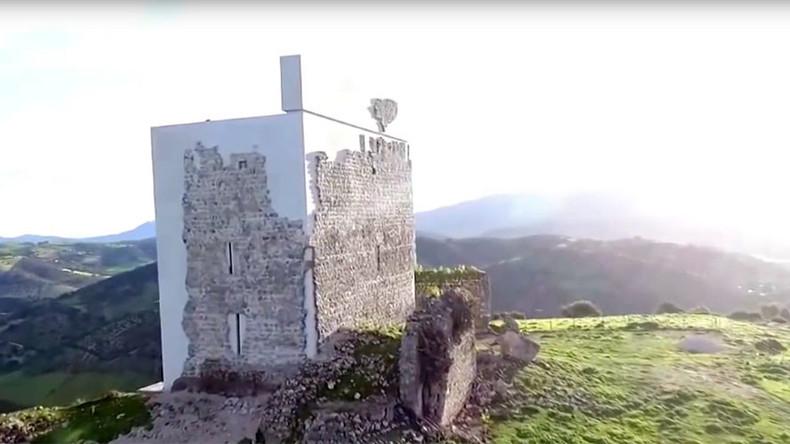 Infamous 'botched' Spanish castle restoration wins top architecture award