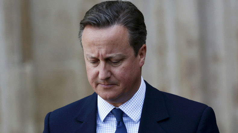 Time to go, Dave? Cameron's ratings slump over EU vote & tax affairs