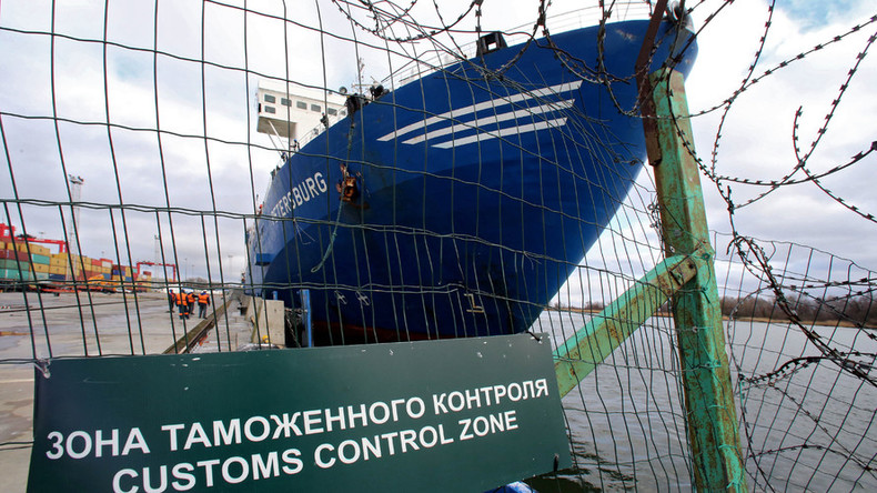 Imports to Russia though March plummet 14%