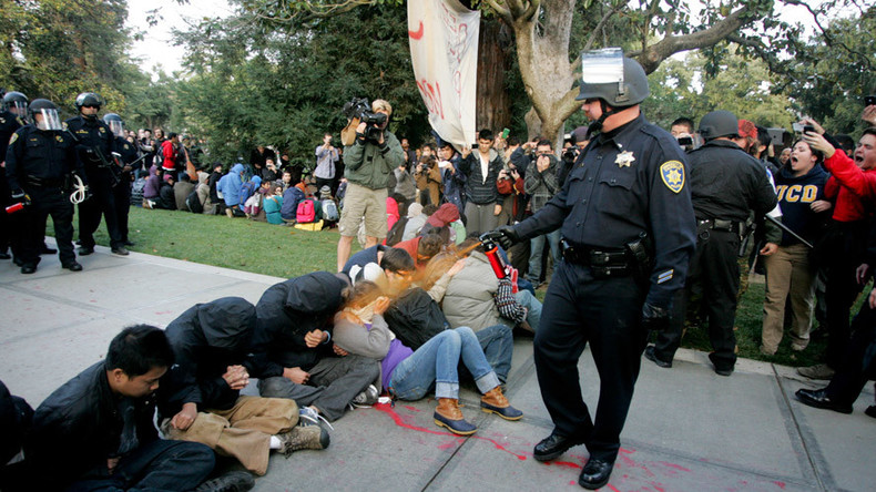 University used $175,000 to bury 'pepper spray' cop internet searches (VIDEO)