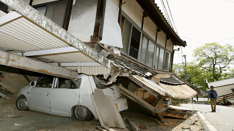 Strongest since Fukushima: Shocking aftermath of deadly quake in Japan (PHOTOS)