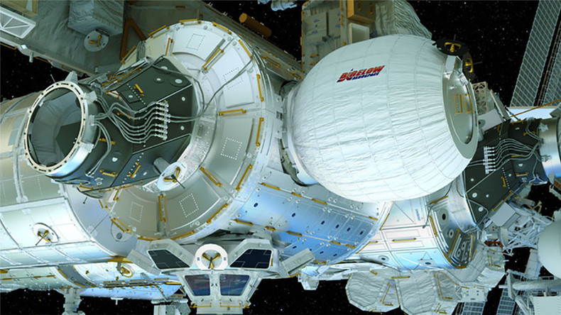 Expandable Martian 'BEAM' pod attached to ISS for test run (VIDEO)