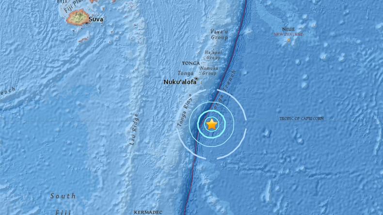 Powerful 5.8-magnitude quake hits Tonga – USGS