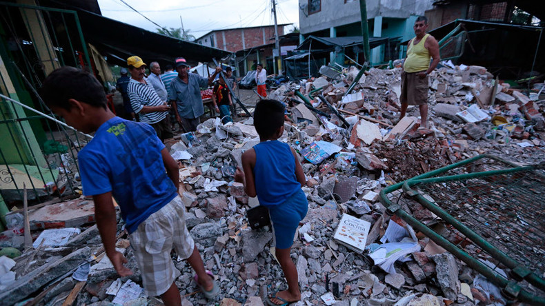Over 400 casualties, massive destruction in Ecuador struck by 7.8 quake