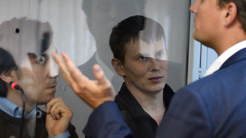 Ukrainian court sentences 2 Russians to 14 years in prison on terrorism charges