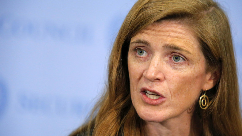 American UN envoy Samantha Power's convoy hits and kills 7yo boy in Cameroon