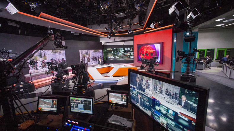 Another first: RT streams news broadcast LIVE in 360