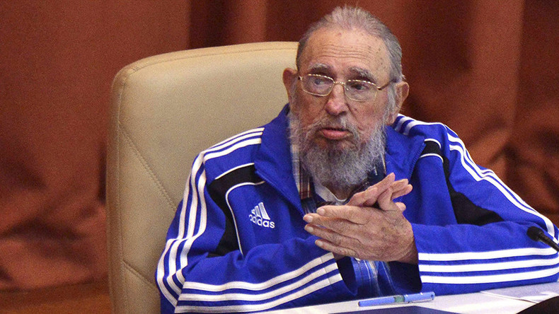 Fidel Castro says he's nearing the end in farewell speech