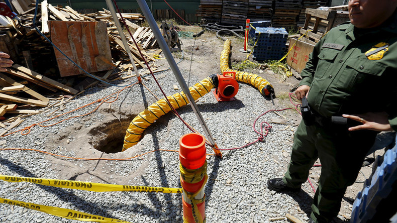 'Out in the open': Half-mile long drug tunnel connects US to Mexico
