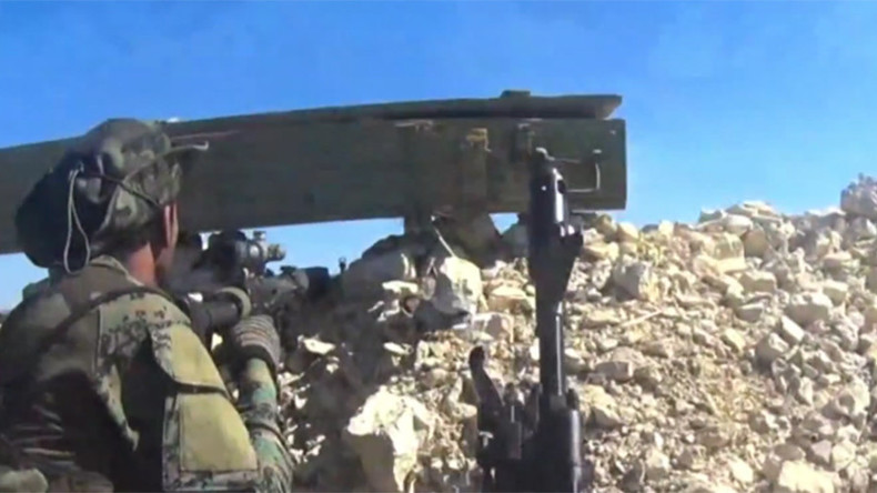 Intense GoPro footage captures Syrian Army fighting jihadists