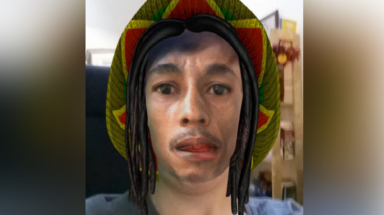 Shocked Bob Marley fans vent fury at 'blackface' Snapchat filter