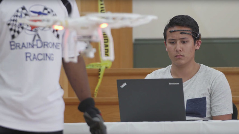 Mind-controlled drone race: U. of Florida holds unique UAV competition