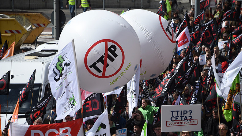 TTIP 'will fail' unless US makes concessions – German minister