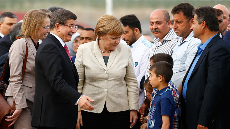 Merkel, Tusk shown 'Potemkin village' in Turkey, not reality with refugees