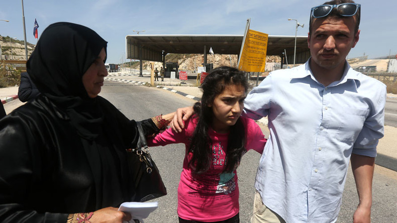 Israel frees 12yo Palestinian girl after 2 months in jail