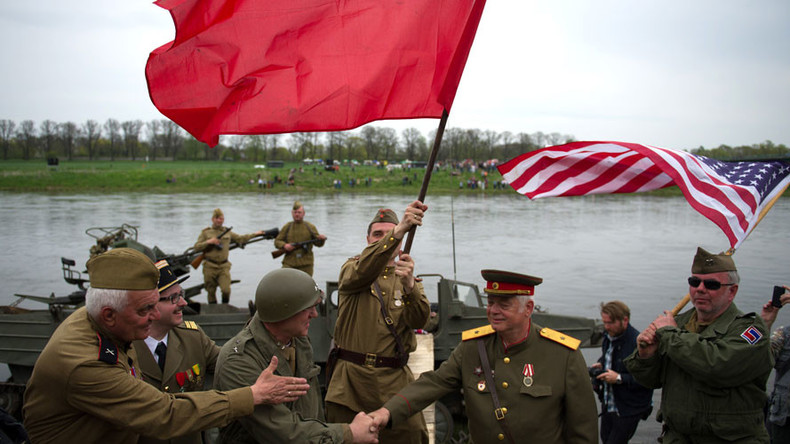 'Spirit of the Elbe': Recalling the day Soviet and US troops met in Germany