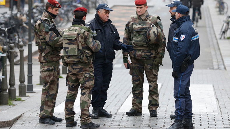 French soldier attacked by 'Arabic-speaking' man wielding blade in Strasbourg