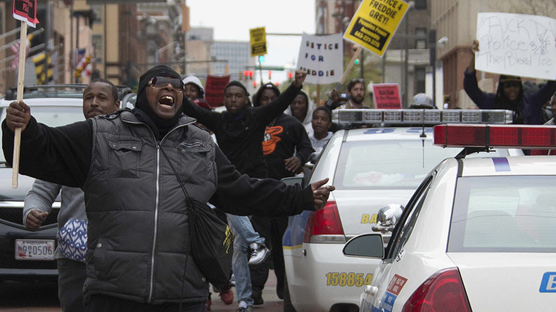 Unity rally in Baltimore on anniversary of Freddie Gray funeral