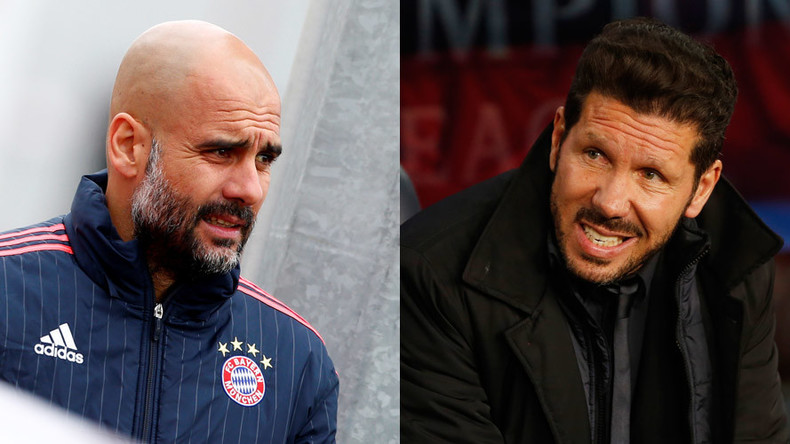 Atletico v Bayern: Simeone bids to add to Guardiola's semi-final woes