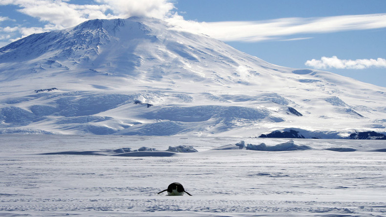 Cool as ice: Newly-discovered lake in Antarctica may hold prehistoric life