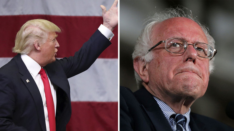 Trump: Bernie, g'head, run as an independent