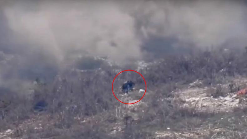 Syrian Army battles Al-Nusra terrorists in strategic Latakia hilltops (DRONE FOOTAGE)