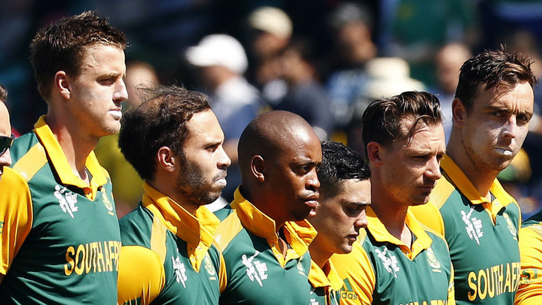 South Africa banned from hosting global sporting tournaments over not enough black players
