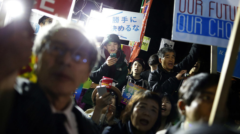 700+ people sue Japanese govt for laws allowing use of military abroad