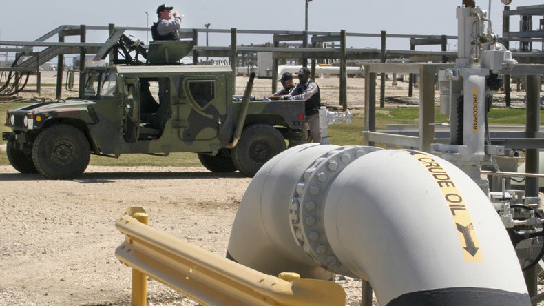 Oil targets $50 as glut lessens and dollar weakens
