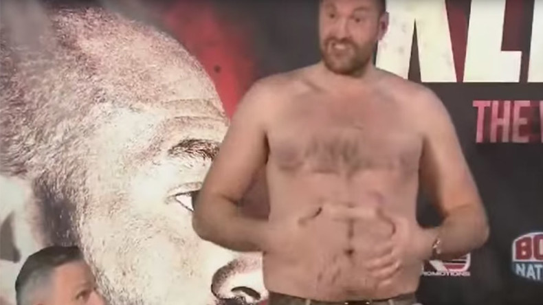 'Beaten by a fat man': Fury taunts Klitschko ahead of rematch (VIDEO)